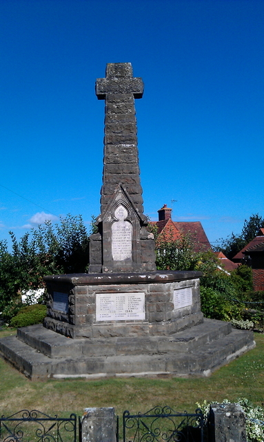Goudhurst war memorial before.jpg