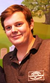 James Spencer-NAMM -BRAMM fixer mason, trainee lettercarver.jpg